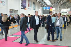 German trade show Royalty Free Stock Photo