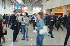 German trade show Stock Photography