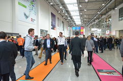 German trade show Stock Images