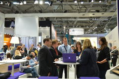 German trade show Royalty Free Stock Photography