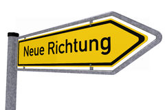 German traffic sign Royalty Free Stock Image