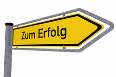 German traffic sign Royalty Free Stock Photography