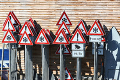 German traffic signs Stock Photography