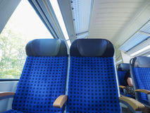 German train interior Stock Photos