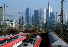 German Trains Stock Photo