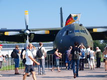 German Transall C-160, Radom, Poland Royalty Free Stock Photos