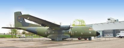German Transall C-160 - Museum Speyer, Germany - Royalty Free Stock Photography