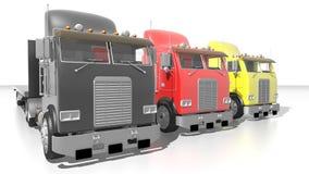 German trucks Stock Images