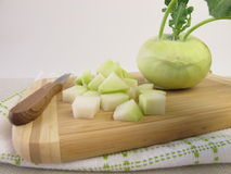 German turnip ready to cook Royalty Free Stock Photos