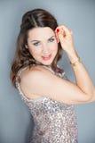 German TV Host Moderatorin Julia Bauer Royalty Free Stock Images