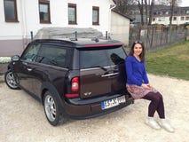 German TV Host Moderatorin Julia Bauer Royalty Free Stock Image