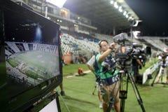 German TV media broadcasting Stock Image