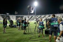 German TV media broadcasting Stock Images