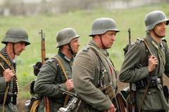 German uniform and ammo of ww2 Royalty Free Stock Image