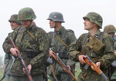German uniform and ammo of ww2 Royalty Free Stock Photography