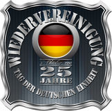 German Unity Day Badge Stock Image