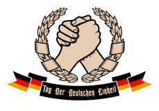 German unity Day Stock Images