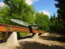 German V 1 missile Stock Image