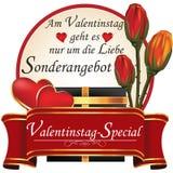 German Valentine`s Day getaway. Stock Images