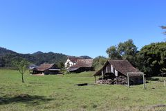 German Valley in Brazil royalty free stock photo