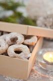 German Vanillekipferl Cookies Stock Photography