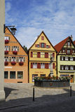 German Village Stock Image