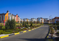 German village district in Krasnodar Royalty Free Stock Photography