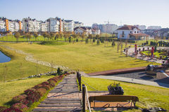 German village district in Krasnodar Stock Photography