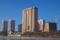 German village Residential area. Krasnodar Royalty Free Stock Photo