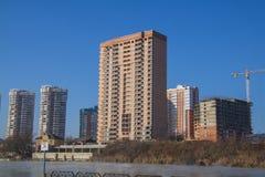 German village Residential area. Krasnodar Royalty Free Stock Photo