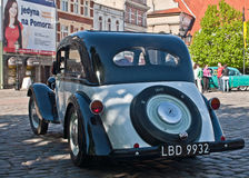 German vintage Adler car. Old retro car Adler during old cars race in Wejherowo, Poland Stock Photography