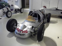 German vintage F1 racing car. From a museum Royalty Free Stock Photos