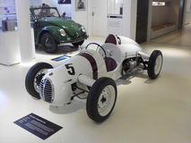 German vintage F1 racing car. From a museum Royalty Free Stock Photo