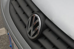 GERMAN VW AUTO LOGO Royalty Free Stock Images