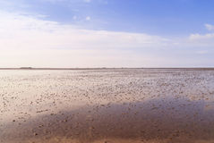 German Wadden Sea Royalty Free Stock Images