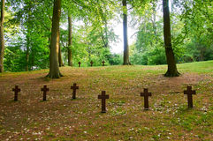 German War Cemetary Royalty Free Stock Photos