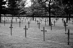 German war cemetery Stock Images