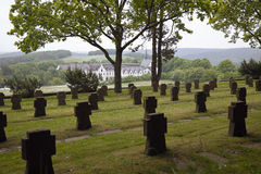 German War Cemetery Mariawald, Heimbach Royalty Free Stock Photo
