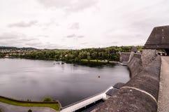 German Water Dam Stock Photo