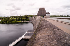 German Water Dam Royalty Free Stock Photography
