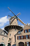 German windmill Royalty Free Stock Photography