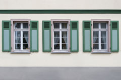 German Windows Royalty Free Stock Photo