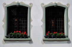 German Windows Stock Photo