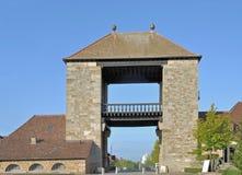 German Wine Gate,Palatinate,Germany Royalty Free Stock Photos