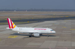 German Wings Airbus A319 Royalty Free Stock Photos