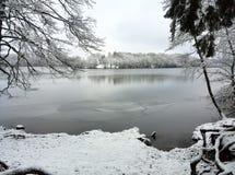 German Winter Landscape Stock Image