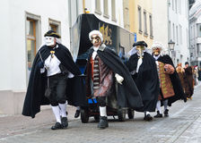German winter masquerade Fastnacht Stock Photography
