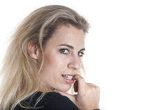 German woman portrait Royalty Free Stock Photo