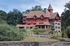 German Wood House Puerto Varas Chile Royalty Free Stock Images