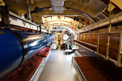German world war 2 submarine type VIIC/41 - torpedo compartment Royalty Free Stock Image